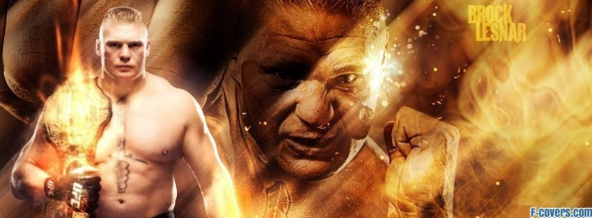 brock lesnar 10 facebook cover