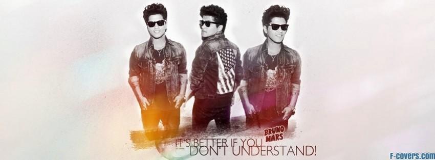 bruno mars 5 facebook cover