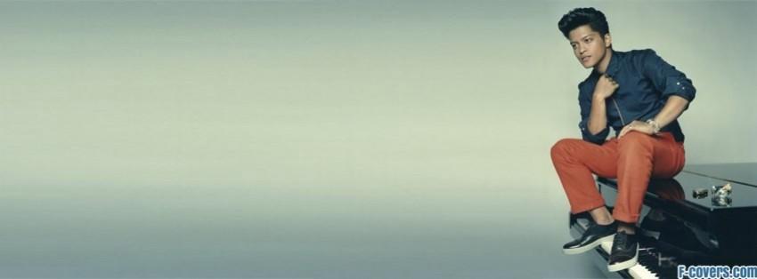 bruno mars piano facebook cover