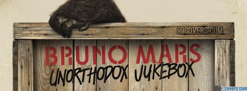 bruno mars unorthodox jukebox special edition cove facebook cover