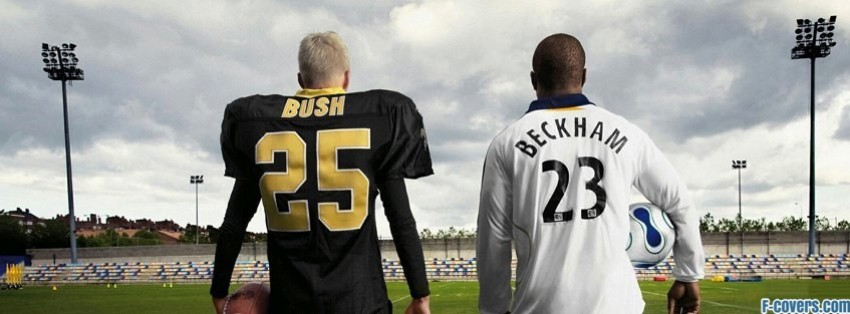bush beckham football soccer facebook cover