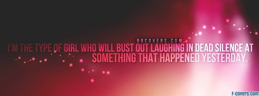 bust out laughing facebook cover
