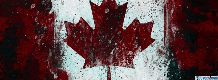 canadian flag facebook cover