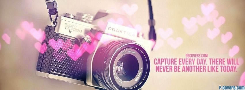 capture every day facebook cover