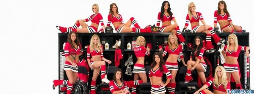 chicago black hawks girls facebook cover