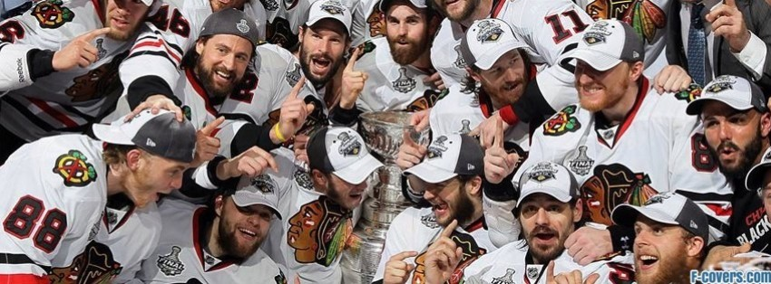 chicago black hawks stanley cup facebook cover