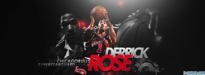 chicago bulls derrick rose facebook cover