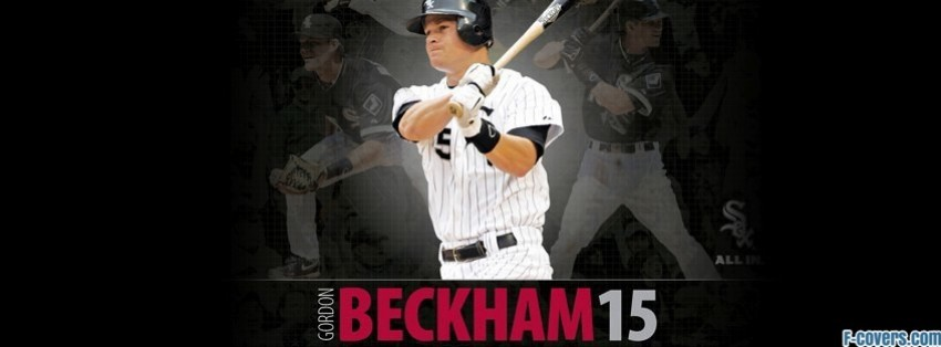 chicago white sox gordon beckham facebook cover