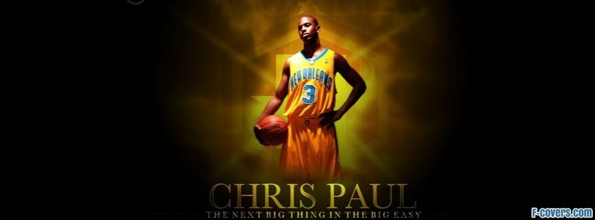 chris paul big thing facebook cover