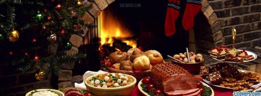 christmas dinner facebook cover