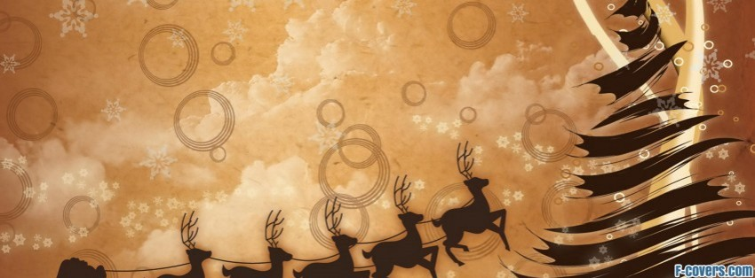 christmas tree clipart facebook cover - Christmas Tree Covers