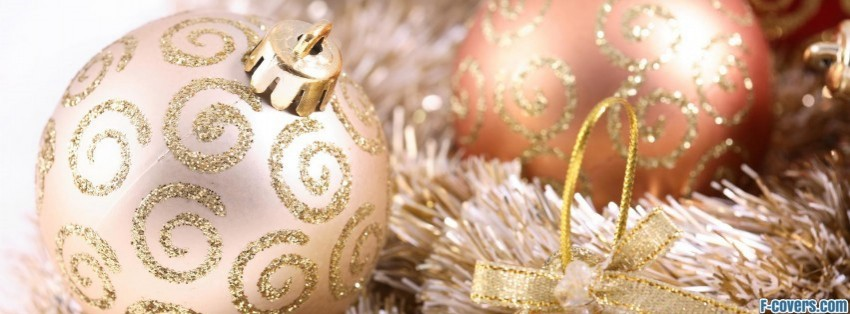 Christmas Tree Decor Facebook Cover Timeline Photo Banner