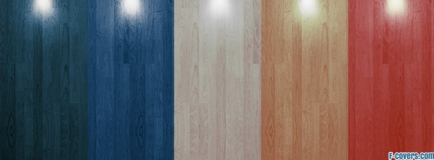 colourful hardwood stripes pattern facebook cover