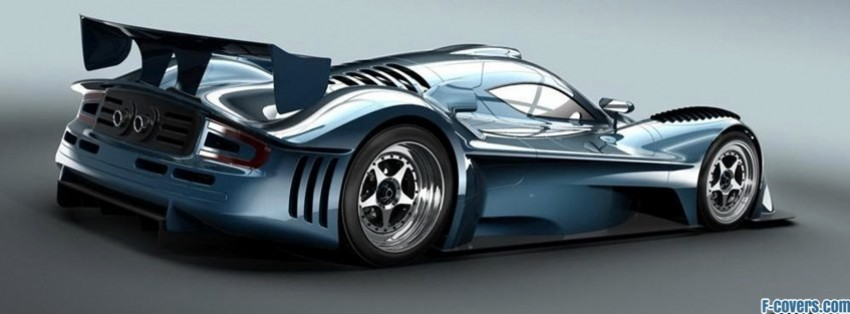 concept racing car facebook cover