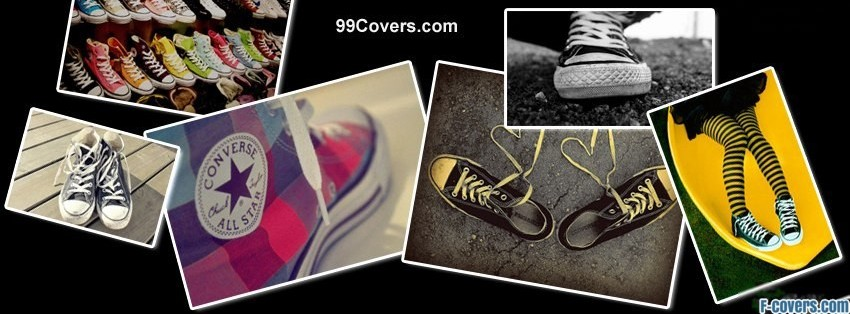 converse collage facebook cover