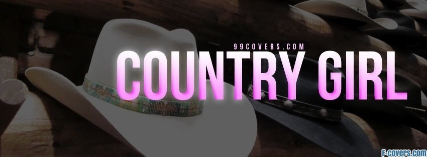 country girl facebook cover timeline photo banner for fb