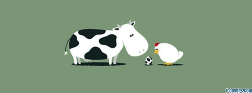 cow chicken facebook cover