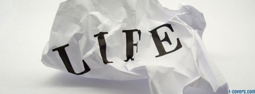 crumpled life facebook cover