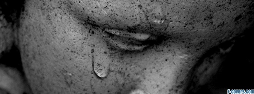 I Am Alone But Happy Facebook Cover crying angel Facebook ...