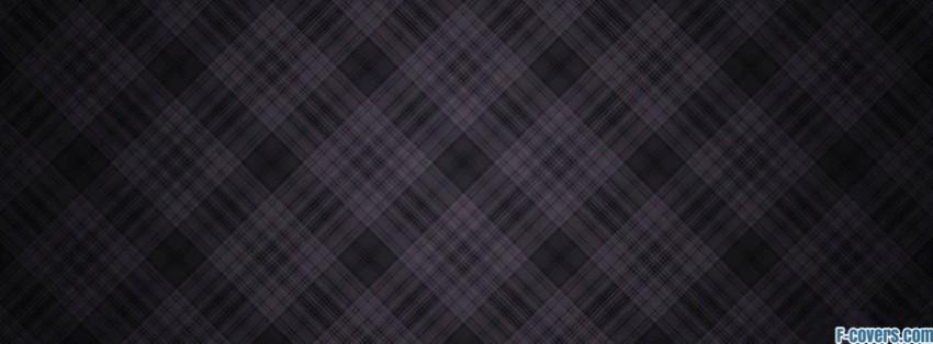dark diamond plaid texture pattern facebook cover