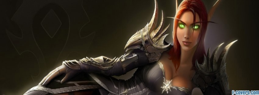 dark elf princess facebook cover
