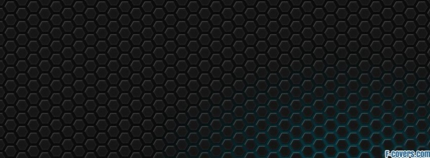 dark hexagon pattern Facebook Cover timeline photo banner for fb