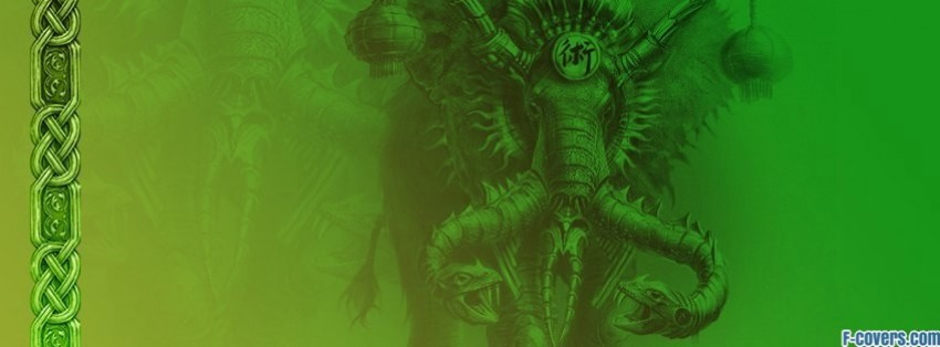 dawn of magic elephant facebook cover timeline photo