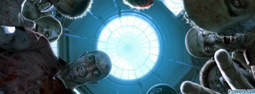 dead rising 2 pinned down by zombies facebook cover