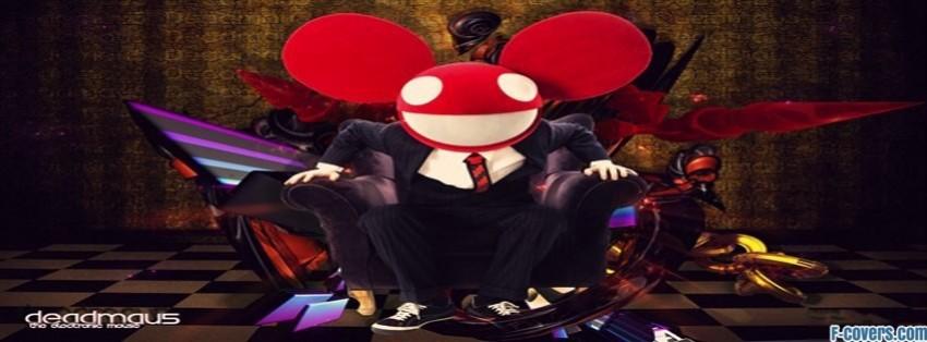deadmau5 electro music techno artist artists facebook cover