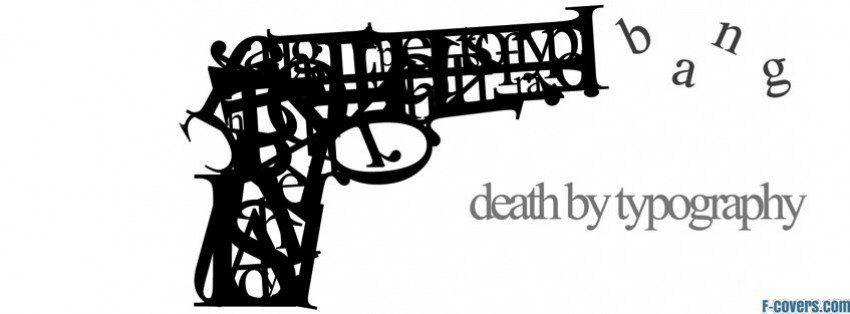 death by type facebook cover