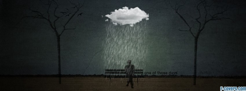 depressing digital art artwork facebook cover timeline