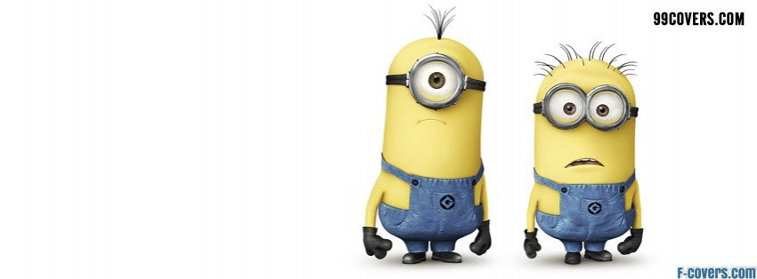 despicable me 2 minions funny facebook cover