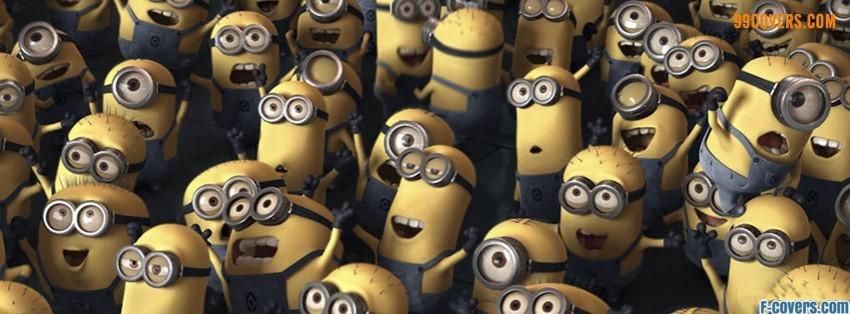 despicable me minions facebook cover