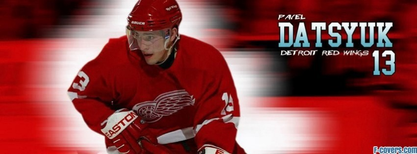 detroit red wings pavel datsyuk facebook cover