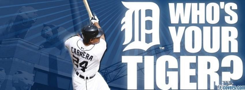 detroit tigers miguel cabrera facebook cover