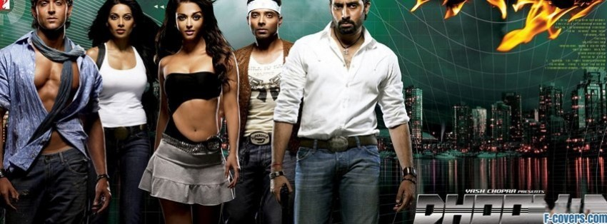 dhoom 2 facebook cover