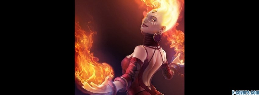 dota 2 lina facebook cover