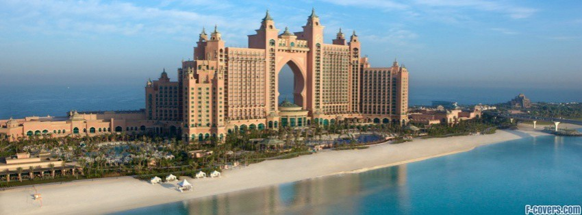 dubai atlantis facebook cover
