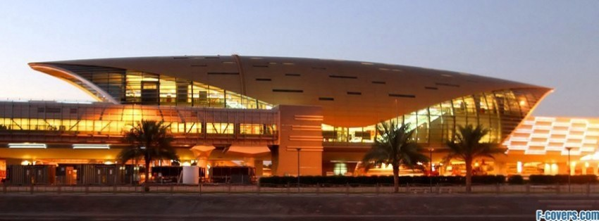 dubai metro stations facebook cover
