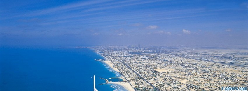 dubai united arabic emirates facebook cover