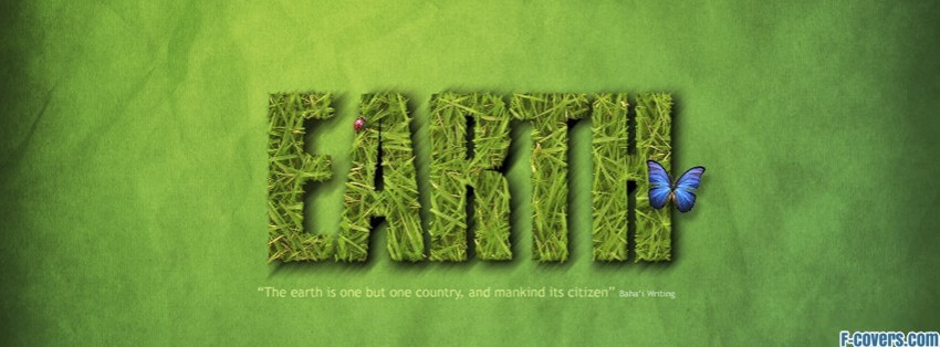Earth Day Grass Facebook Cover Timeline Photo Banner For Fb
