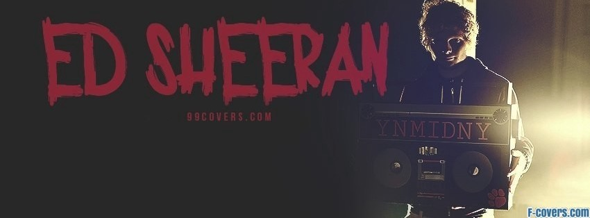 ed sheeran facebook cover