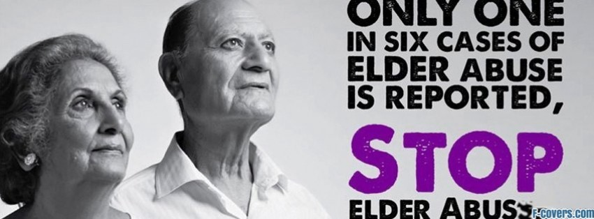 elder abuse awareness facebook cover
