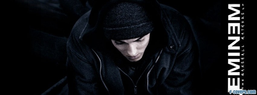 eminem dark cloths facebook cover