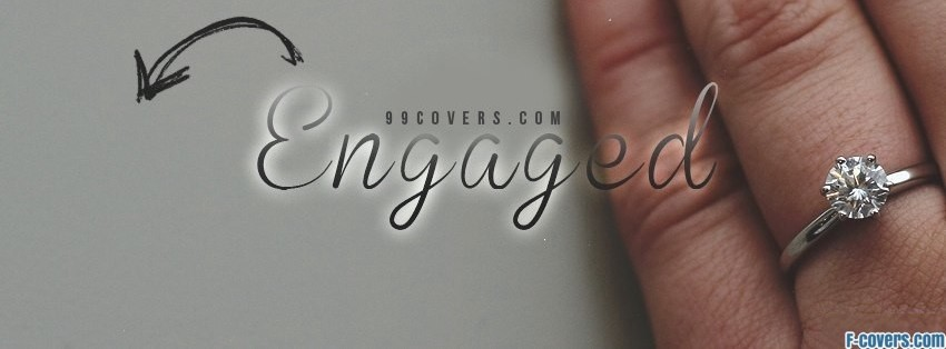 engaged facebook cover