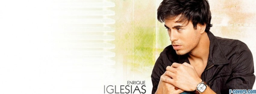 enrique iglesias 3 facebook cover