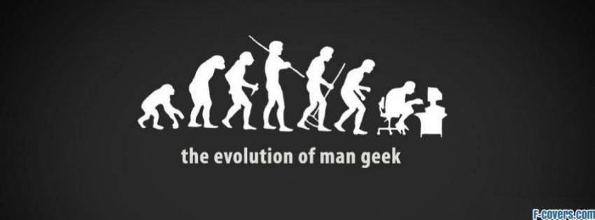 evolution of geek facebook cover
