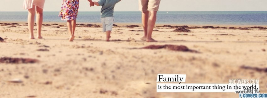 family most important facebook cover