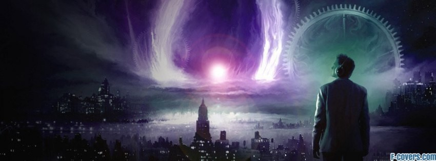 Fantasy Cityscapes Science Fiction Facebook Cover Timeline