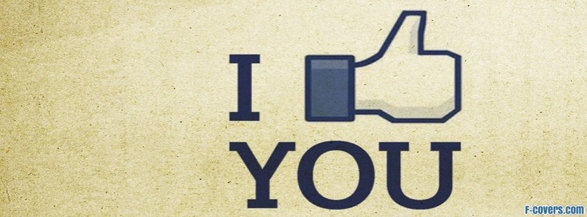 fb i like you facebook cover